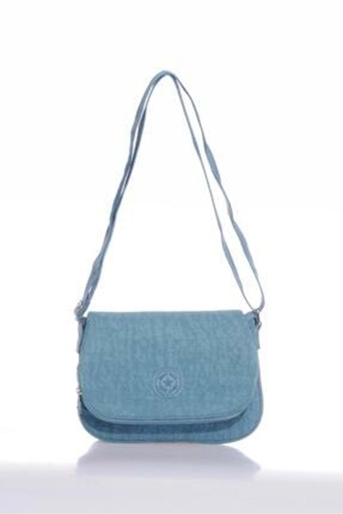 SMART BAGS Kadın  Buz Mavi Omuz Çantası 3056 1