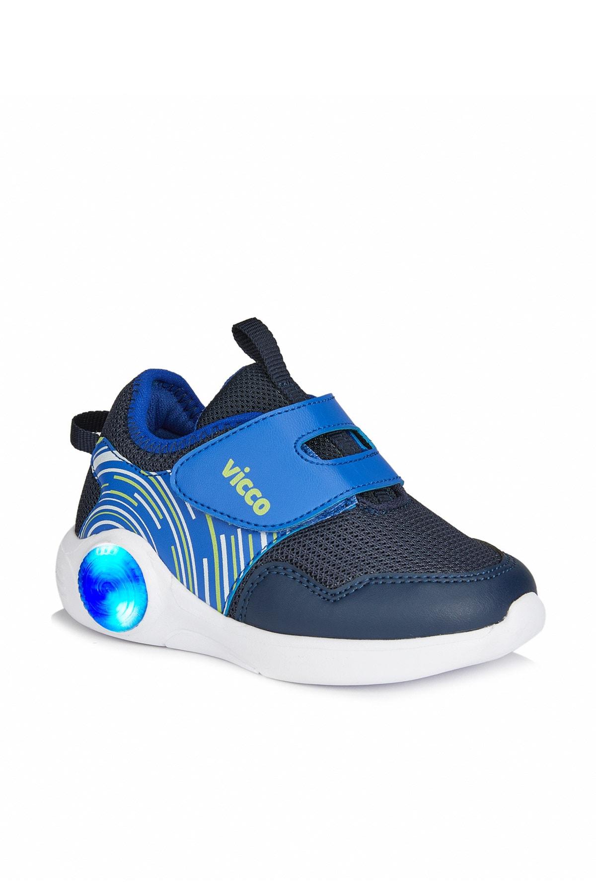 Vicco Jojo Erkek Çocuk Lacivert Spor Ayakkabı 1
