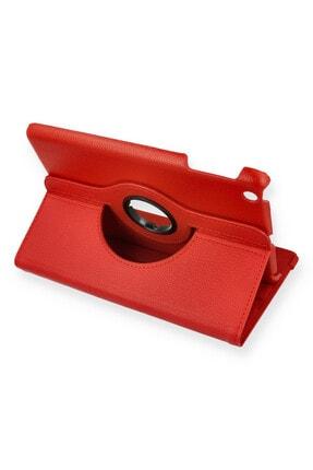 PHONACS Apple Ipad Mini 1-2-3 7.9 '' Inç 360 Dönerli Tablet Kılıfı Kırmızı