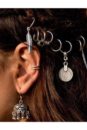 New Obsessions Kadın Bohemian Saç Küpesi