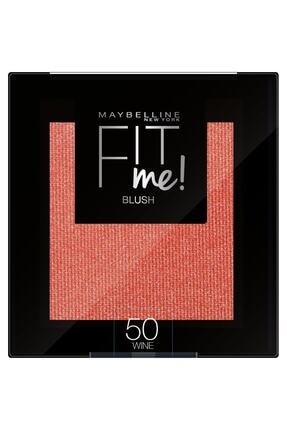 Maybelline New York Fit Me Blush 50 Wine Allık 3600531537399