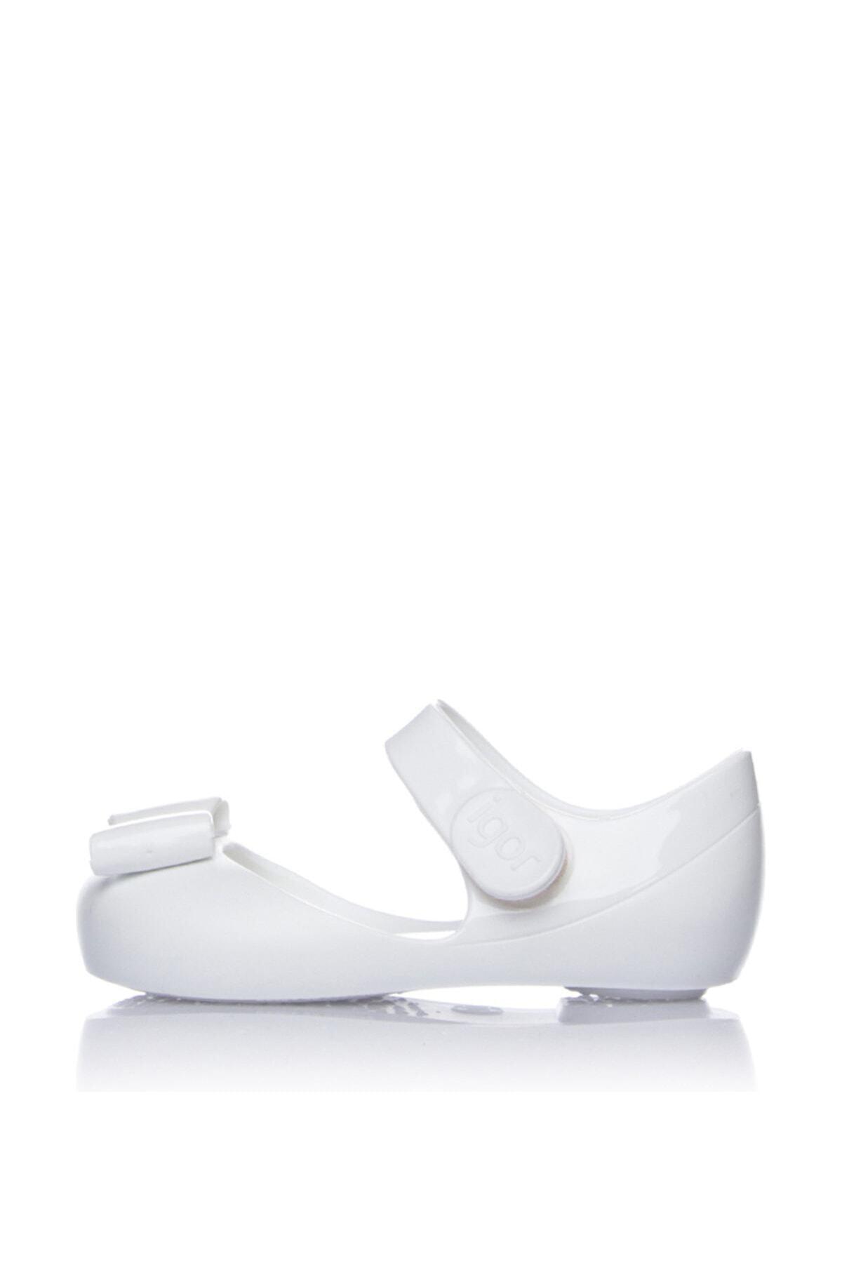 IGOR S10167-L01 Beyaz Kız Çocuk Babet 100293835 1