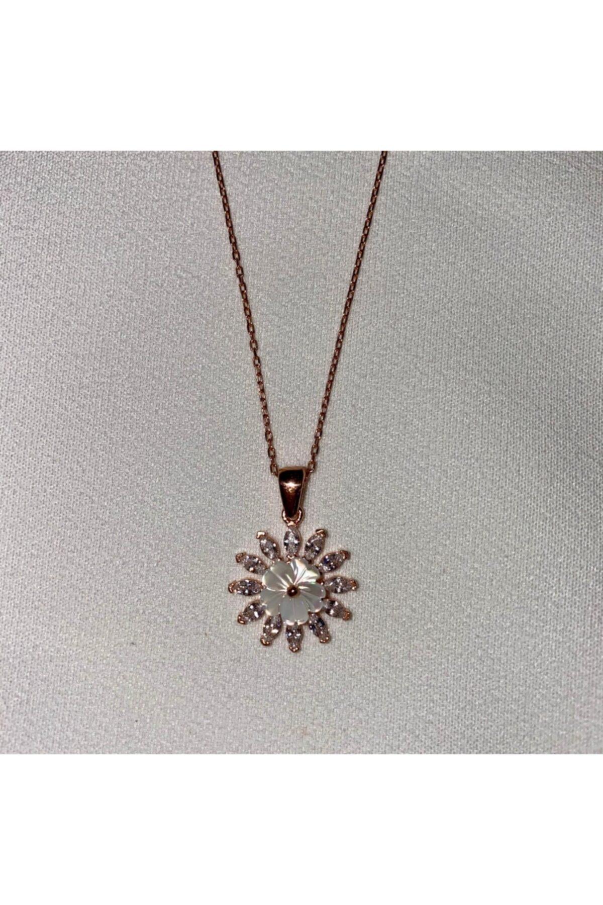 LafleursCollection Manolya Çiçeği 925 Ayar Gümüş Kolye 2