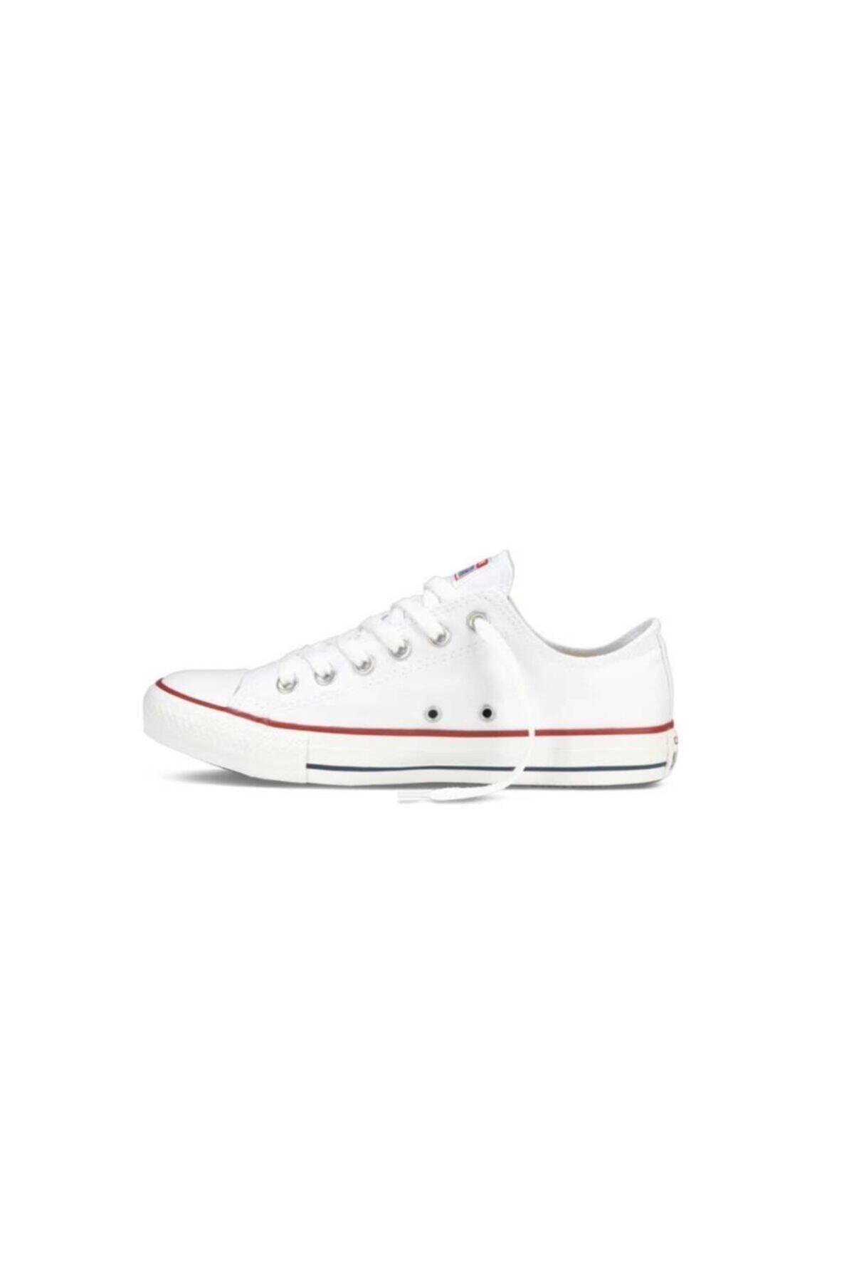 converse Kadın Beyaz Sneaker M7652c Chuck Taylor All Star Optıcal White Canvas 2