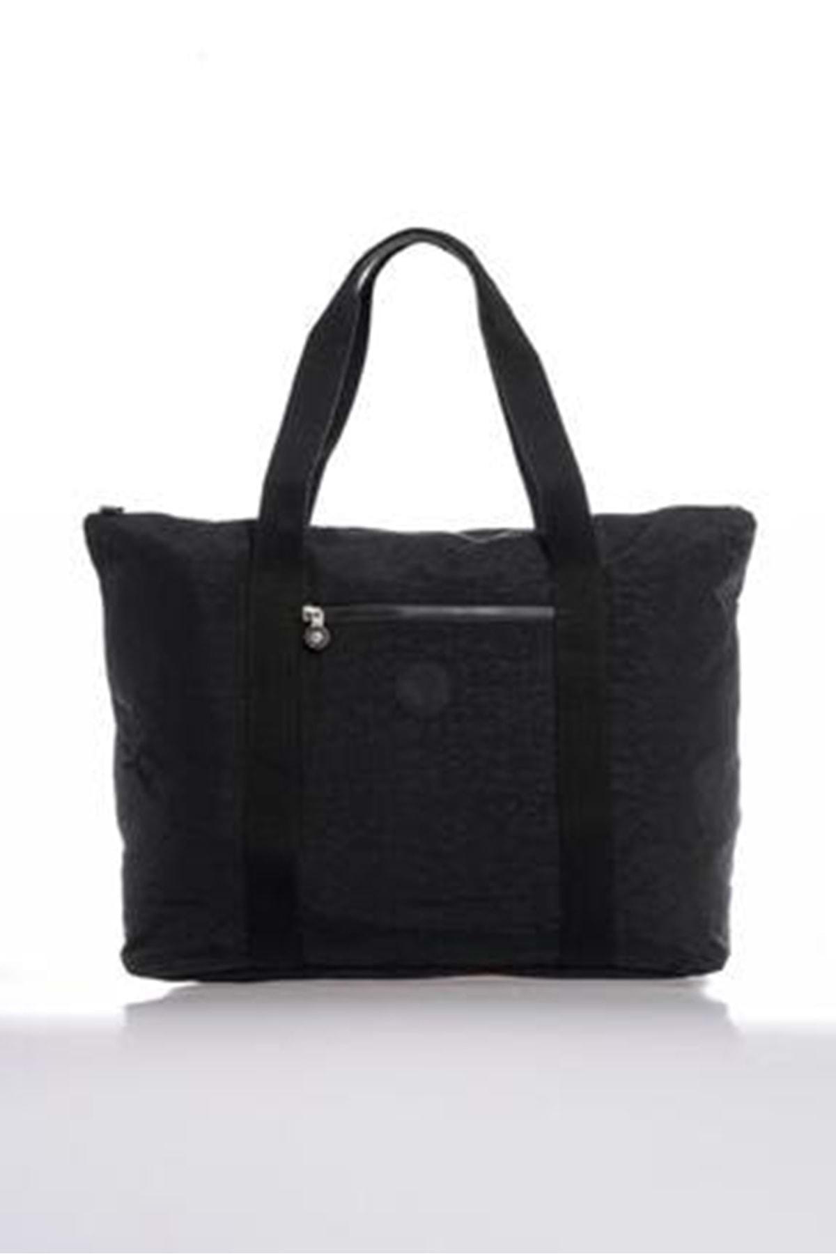 SMART BAGS Kadın Siyah Büyük Boy Çanta 3041 1