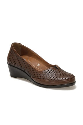 Polaris 5 Nokta 103244.Z1FX Taba Kadın Klasik Ayakkabı 101002408