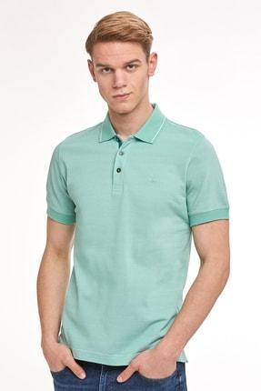 Hemington Erkek Yeşil Pike Örgü Polo Yaka T-shirt