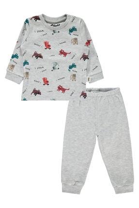 Civil Baby Erkek Bebek Gri Pijama Takımı