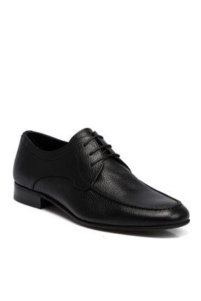 Tergan Erkek Siyah Deri Ayakkabı 55207a41