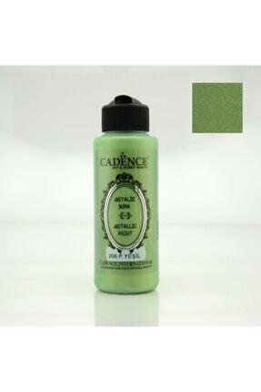 Cadence Metalik Sedefli Boya 120ml.206 Pastel Yeşili