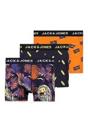Jack & Jones 3'lü Boxer Paketi 12196507 Jacsean