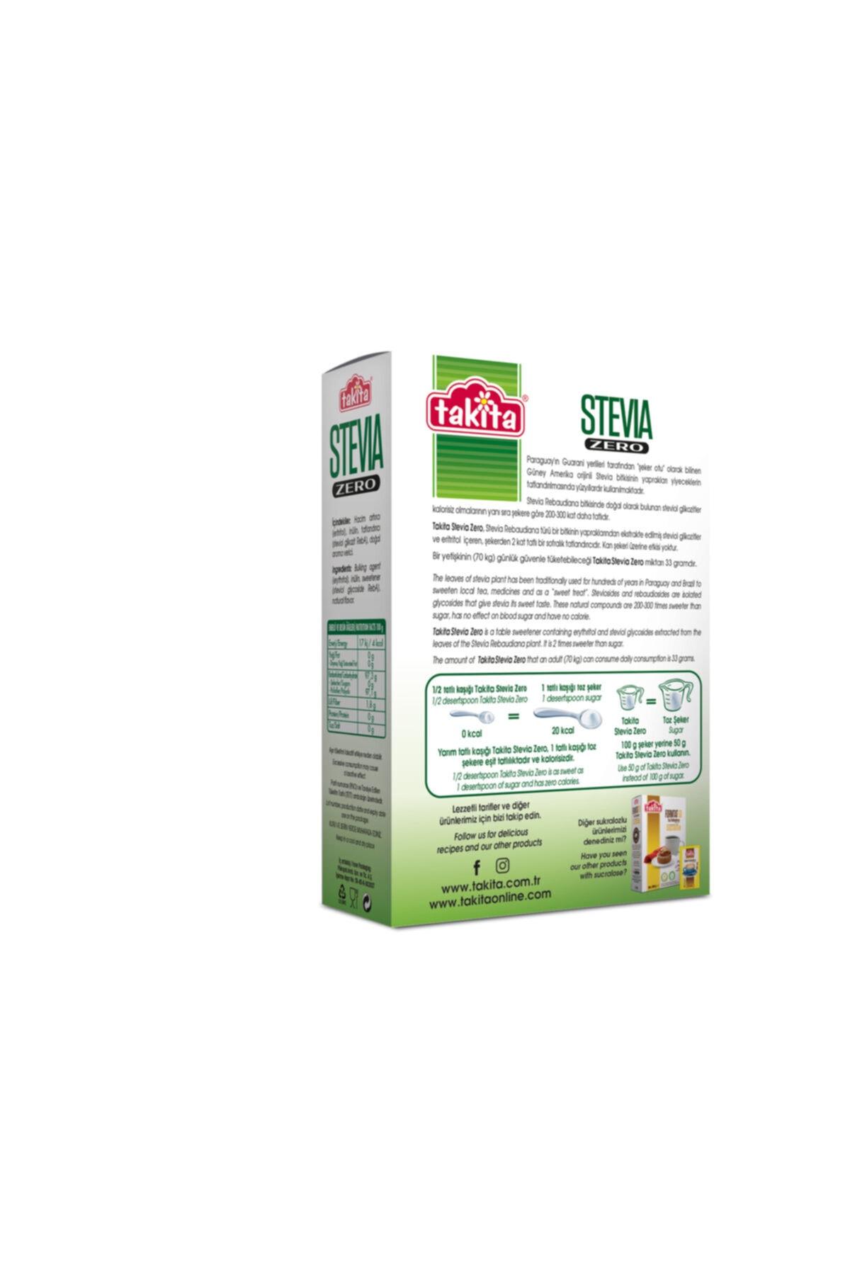 Takita Stevia Zero Toz Tatlandırıcı 250 G 2
