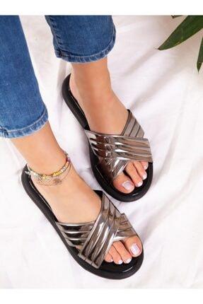 ayakkabıhavuzu Kadın Platin Terlik