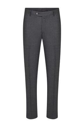 W Collection Gri Klasik Pantolon