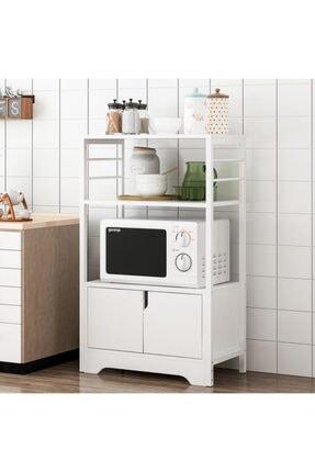 DEHALİMİTED Raflı Mutfak Düzenleyici Mikrodalga Fırın Dolabı