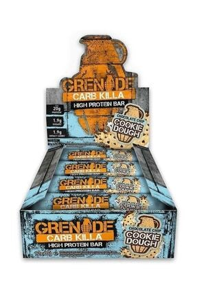 Grenade Carb Killa Protein Bar 60 gr 12 Adet - Chocolate Chip Cookie Dough Aroma