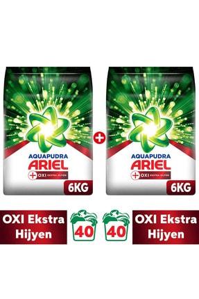 Ariel Oxı 12 kg Aqua Pudra Toz Çamaşır Deterjanı ( 6 kg X 2 )