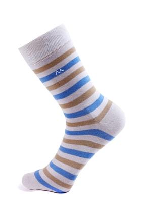 Hemington Erkek Çizgili Yazlık Pamuk Çorap