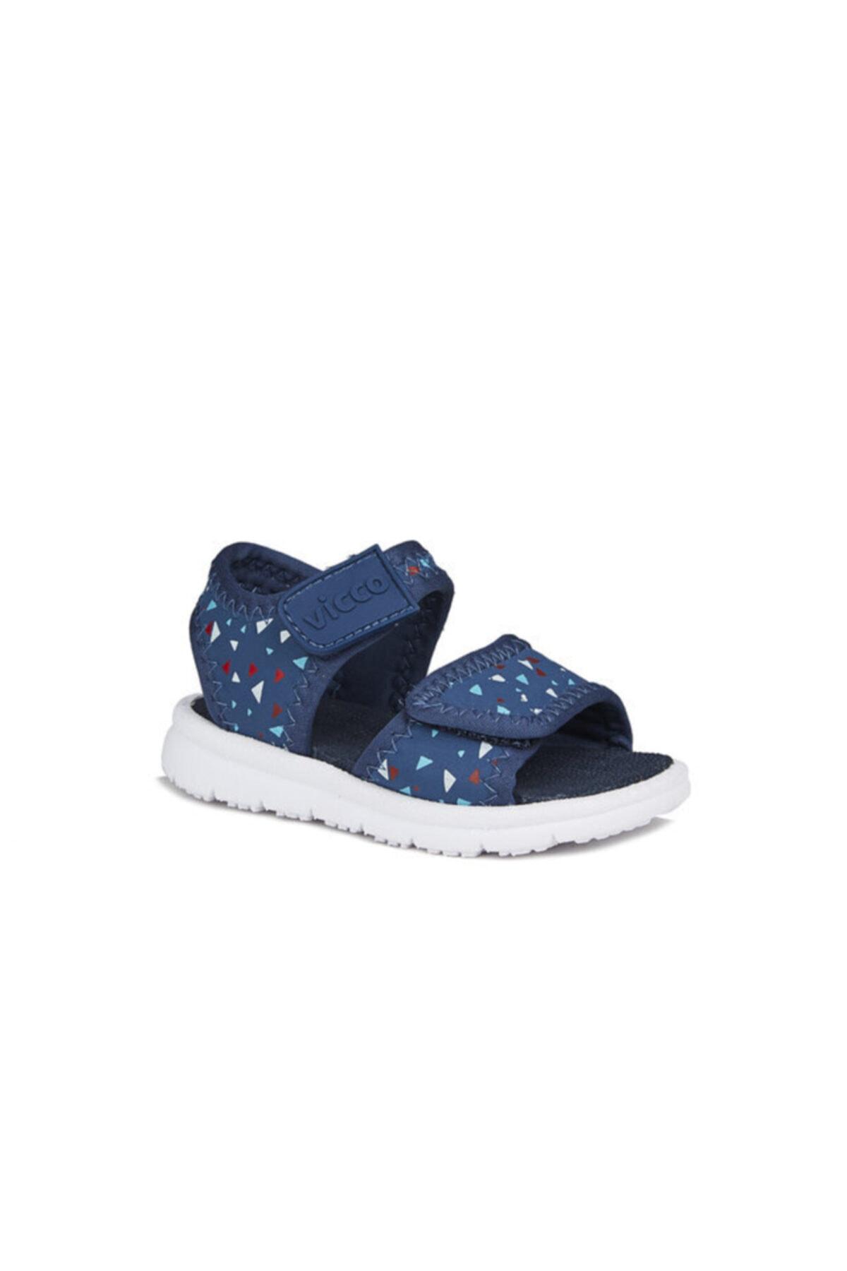 Vicco Limbo Ilk Adım Erkek Bebe Lacivert Sandalet 1
