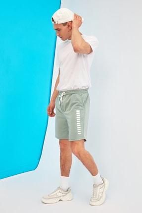 TRENDYOL MAN Mint Erkek Regular Fit  Şort & Bermuda TMNSS21SR0137