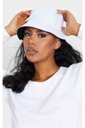 Y-London 13614 Çift Taraflı Siyaha Beyaz Tas Şapka