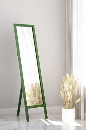 bluecape Yeşil Ayaklı Boy Aynası 38 x145 cm