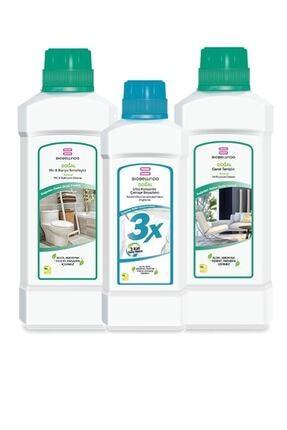 BioBellinda Banyo Beyazlatıcı Genel Temizlik Set 3'lü