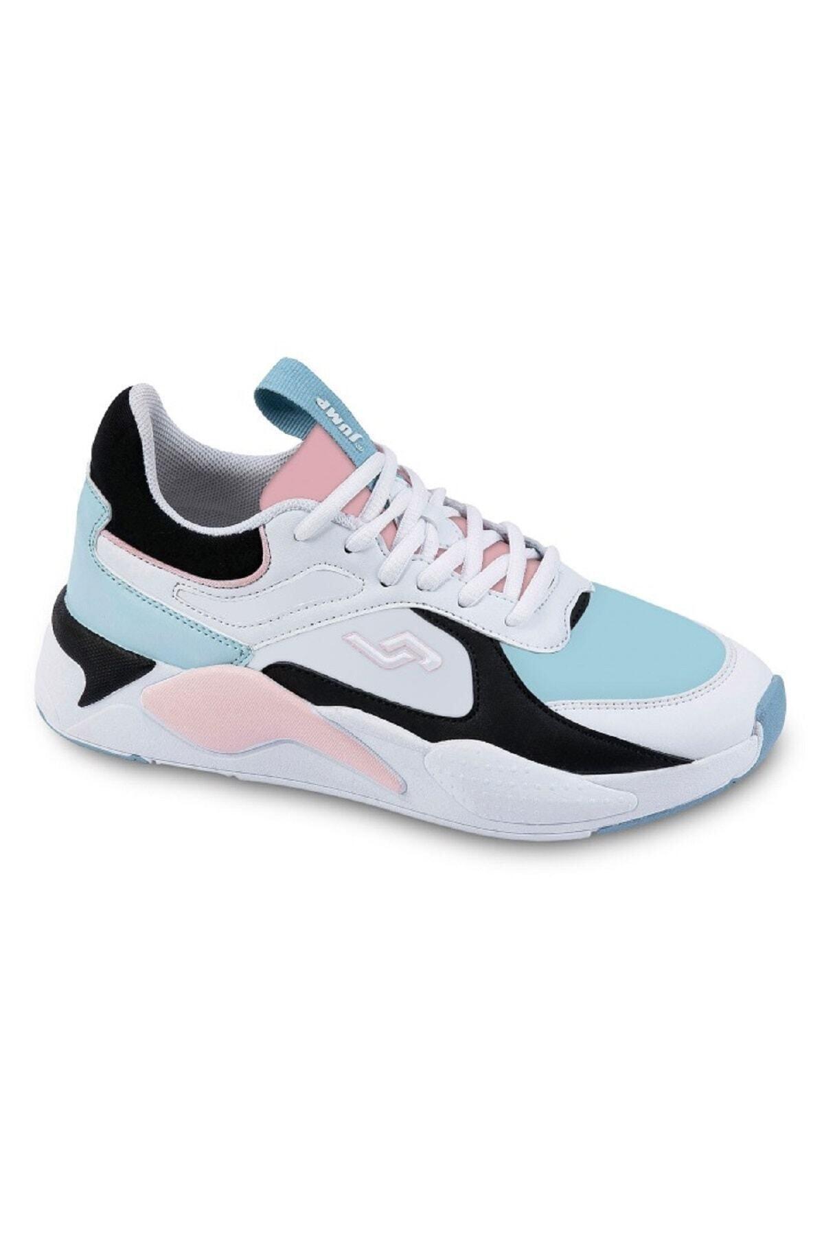 Jump 24772 Beyaz Kadın Spor Ayakkabı 1
