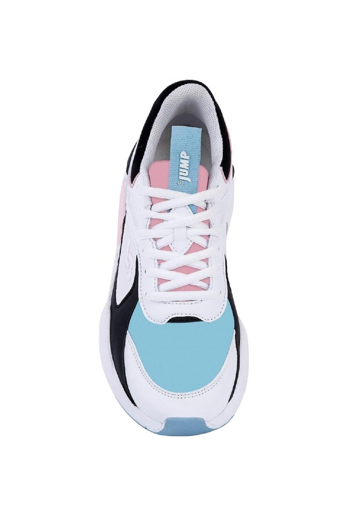 Jump 24772 Beyaz Kadın Spor Ayakkabı 2