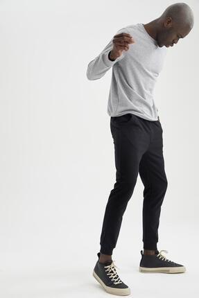 DeFacto Ribanalı Uzun Kollu Jogger Altlı Slim Fitpijamatakımı