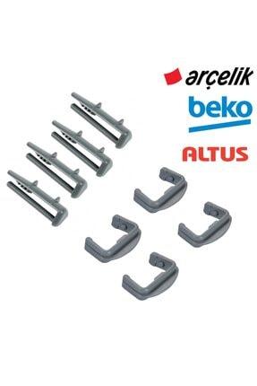 Arçelik - Beko - Altus Bulaşık Makinesi Ön Arka Ray Pimi 8'li Set