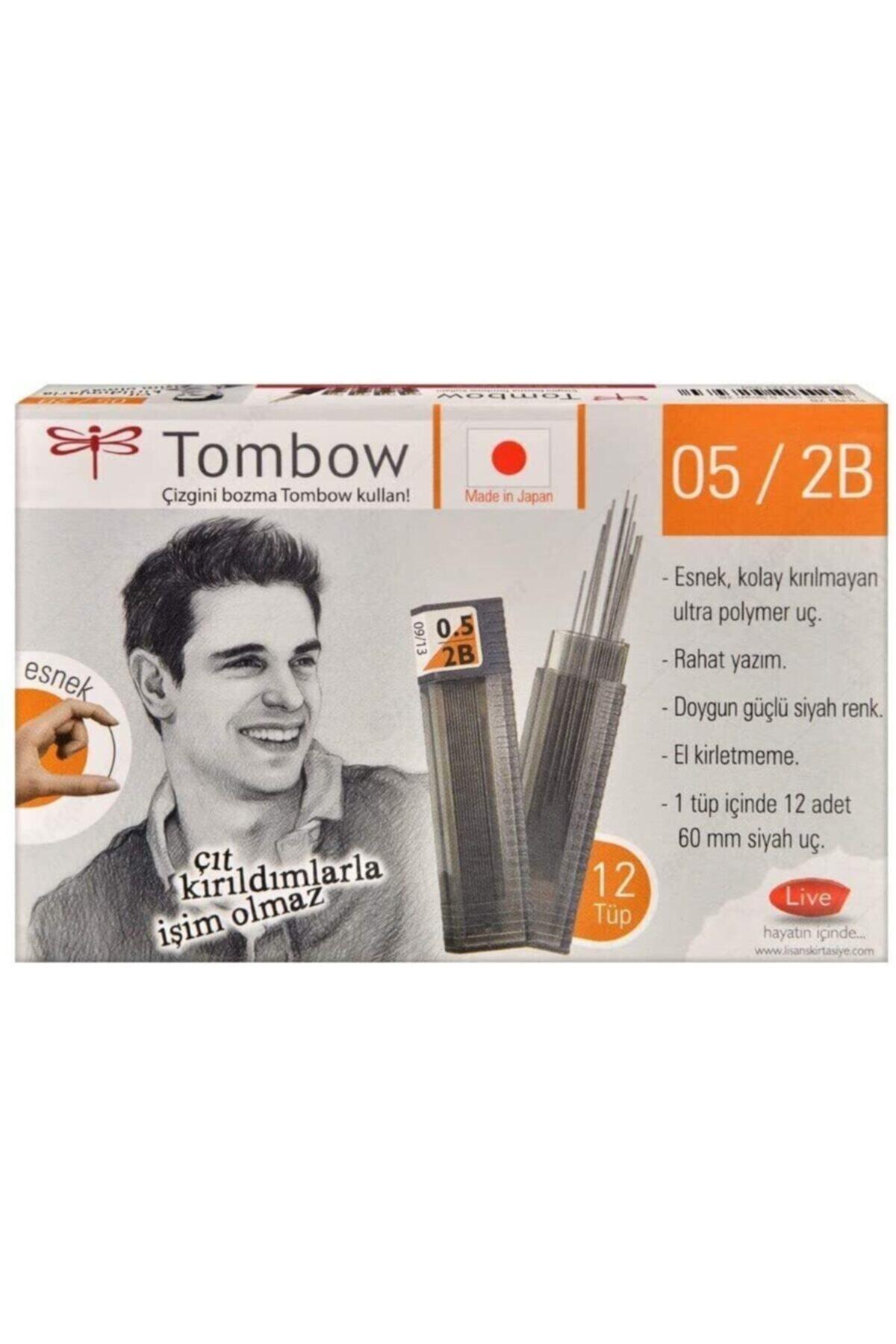 Tombow  Min Klasik Tüp 0.5 Mm 2b 12 Adet 2