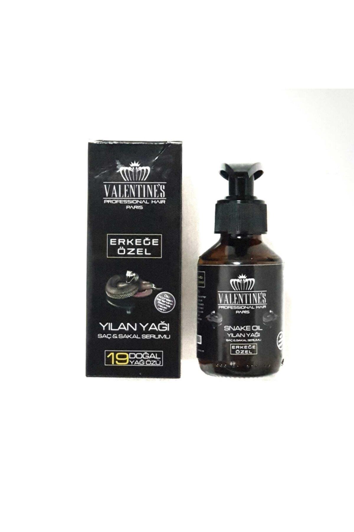VALENTİNES Erkeğe Özel Yılan Yağı Saç ve Sakal Serumu 2