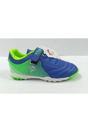 MP Erkek Çocuk Mavi Halı Saha Ayakkabısı
