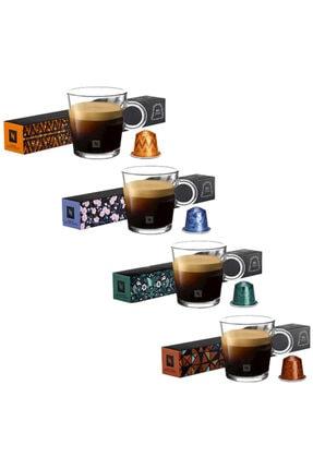 Nespresso Fortisso Lungo, Tokyo Vivalto Lungo, Envivo Lungo, Linizio Lungo Kapsül Kahve 10'lu