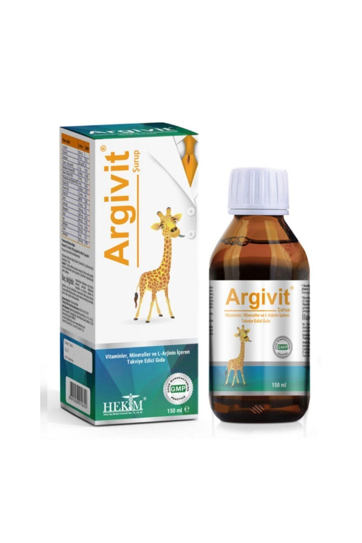 Argivit Boy Uzamasına Yardımcı Ve İştah Düzenleyici Multivitamin Şurup 150 ml 1