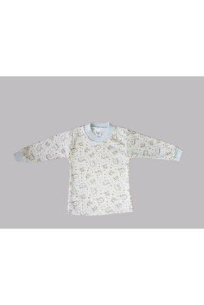 Karaca Erkek Çocuk Beyaz Pijama Takımı