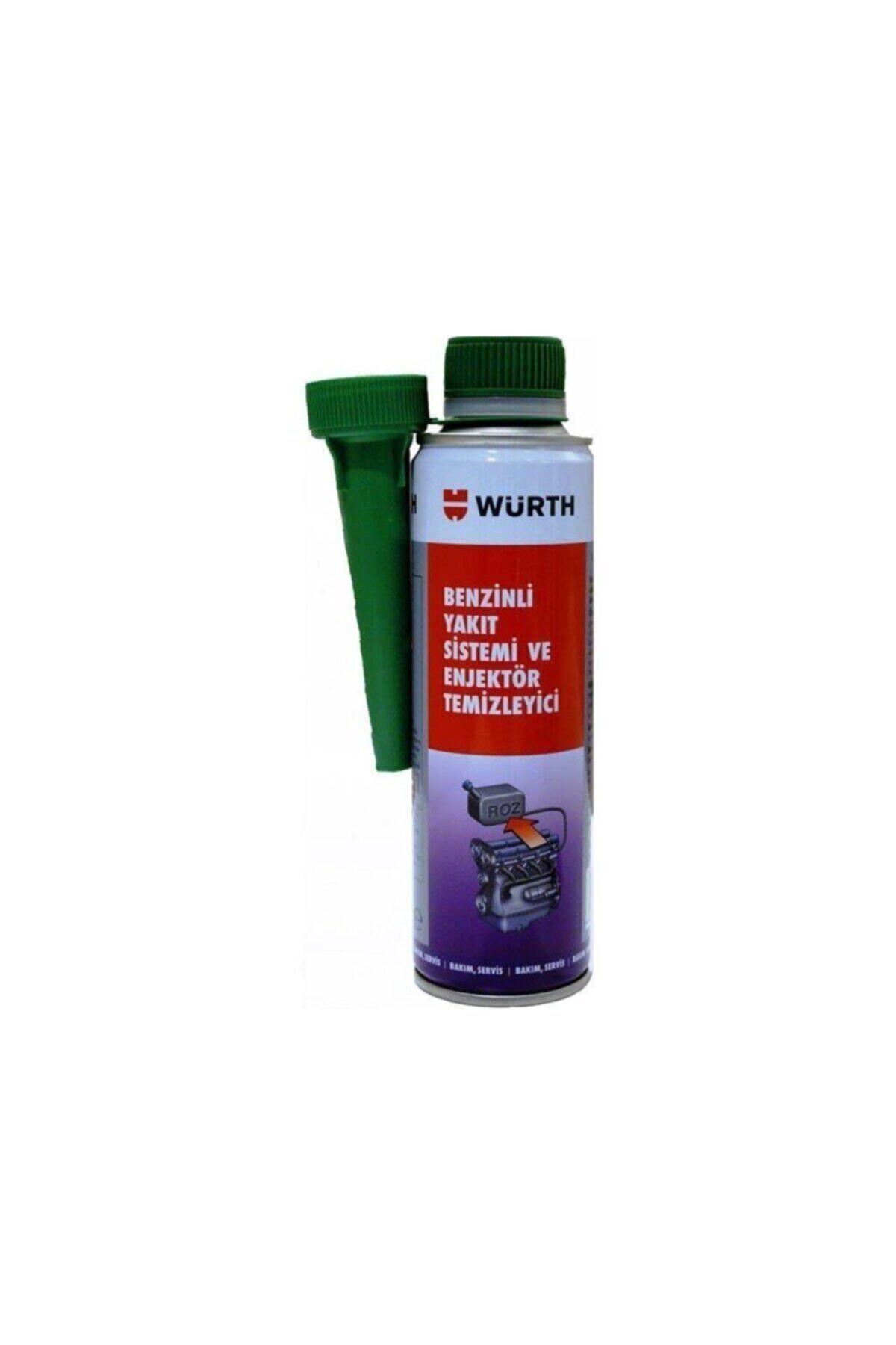 Würth Benzinli Yakıt Sistemi Ve Enjektör Temizleyici 300ml 1