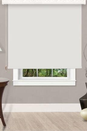 Taç Ithal Beyaz Mat Polyester Stor Güneşlik
