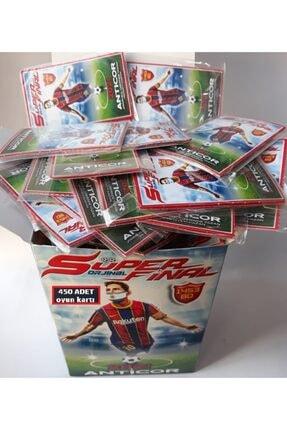 Süper Futbol Futbolcu Resimli Efsaneler Final Oyun Kartı 450 Adet