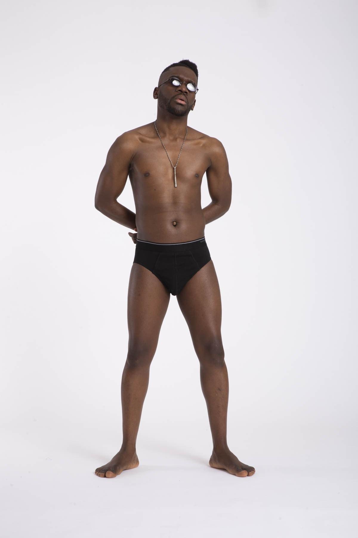 Blackspade 3'lü Paket 9672 Pamuklu Erkek Slip Külot Siyah 2