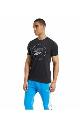 Reebok Graphic Series Speedwick T-shirt Siyah