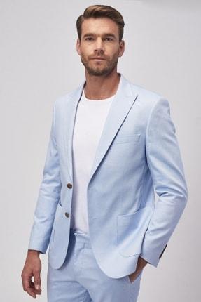 ALTINYILDIZ CLASSICS Erkek Mavi Ekstra Slim Fit Spor Takım Elbise