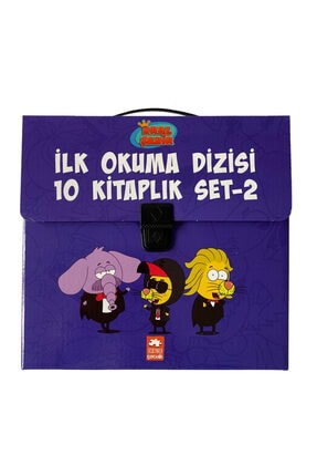 Eksik Parça Yayınları Kral Şakir Ilk Okuma Dizisi 2.seri Çantalı Set