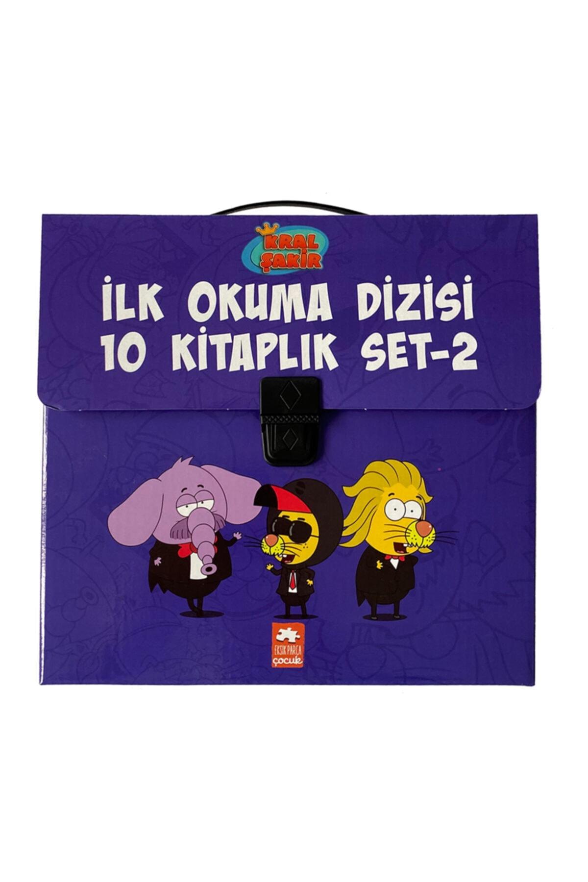 Eksik Parça Yayınları Kral Şakir Ilk Okuma Dizisi 2.seri Çantalı Set 1