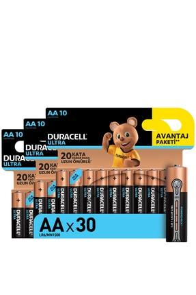 Duracell Ultra Alkalin Aa Kalem Piller, 30 Lu Paket