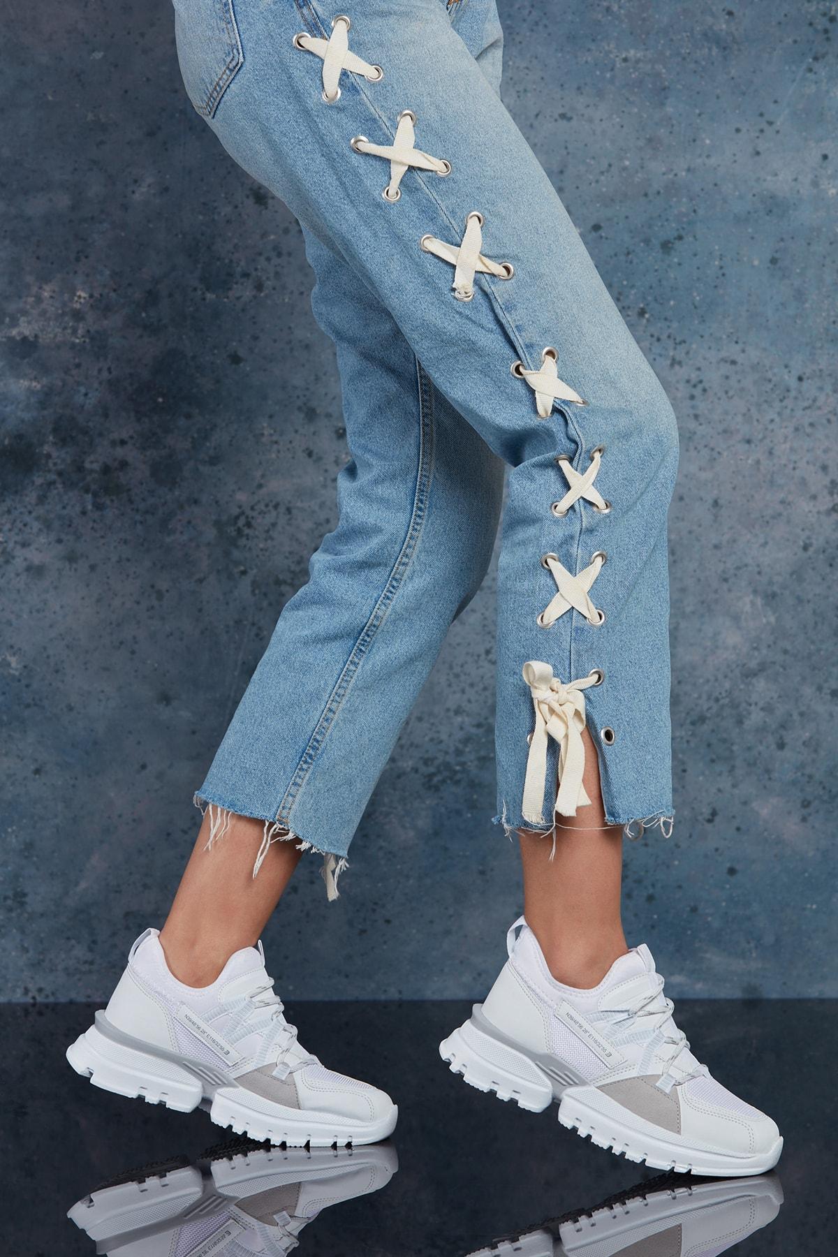 DARK SEER Full Beyaz Kadın Sneaker 2