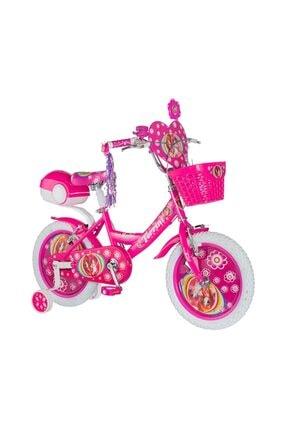 Tunca 16 Jant Lady Jant Kapaklı Lüx 16 Jant Çocuk Bisikleti Pembe