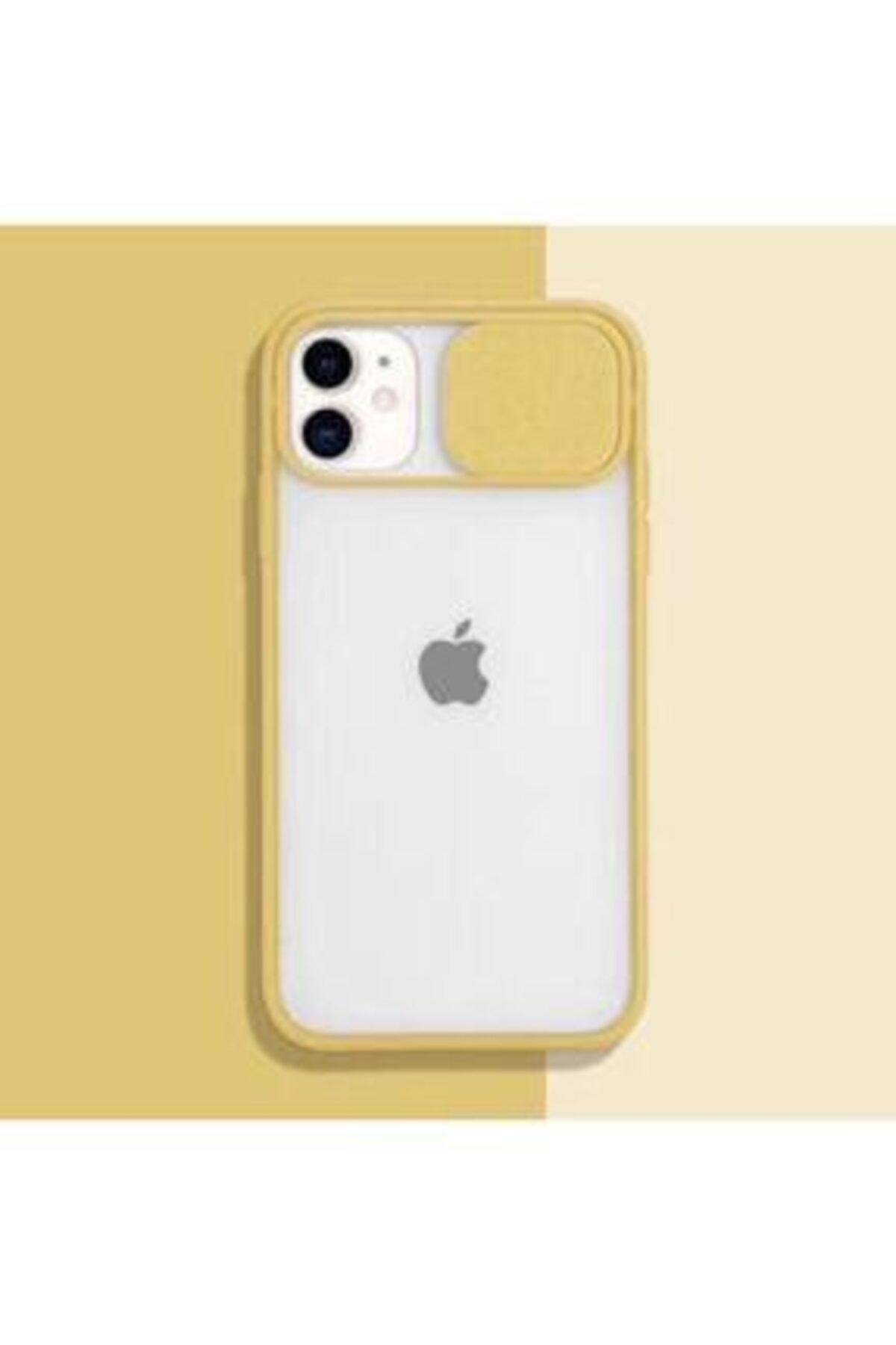 ULS Iphone 12 Pro Max Uyumlu Kamera Lens Korumalı Sürgülü Kılıf 1