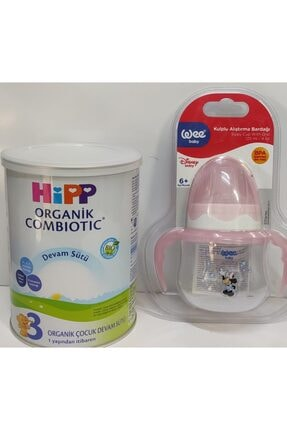 Hipp 3 Organik Combiotic Devam Sütü 350 Gr  Wee Biberon 125 Ml